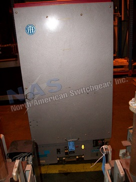 ABB 15HK750 circuit breaker pictured.  NAS stocks many 15HK750 circuit breakers and parts.