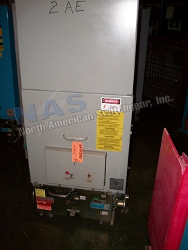 BBC 5VHK250 circuit breaker pictured.  NAS Stocks many 5VHK250 circuit breakers and parts.