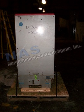 ABB 7.5HK500 circuit breaker pictured.  NAS Stocks many 7.5HK500 circuit breakers and parts.