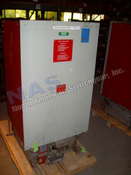 Westinghouse 75DHP500 circuit breaker pictured.