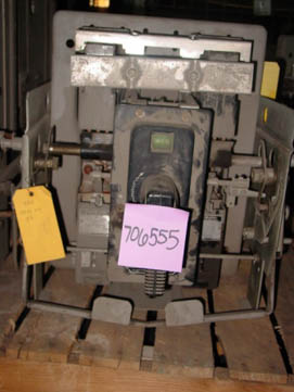 General Electric AK-1-15 circuit breaker pictured.