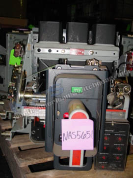 General Electric AKR-8D-30S circuit breaker pictured.
