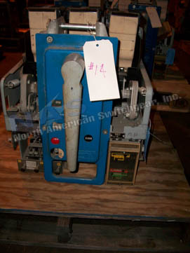 General Electric AKRU-4A-30 circuit breaker pictured.