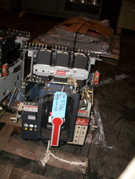 General Electric AKRU-9D-30S circuit breaker pictured.