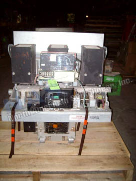 Westinghouse DB-100 circuit breaker pictured.