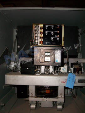 Westinghouse DB-75 circuit breaker pictured.