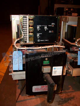Westinghouse DBL-25 circuit breaker pictured.