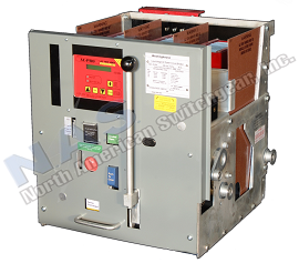 Westinghouse DS-206 circuit breaker pictured.
