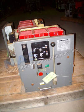 Square D DS-420 circuit breaker pictured.