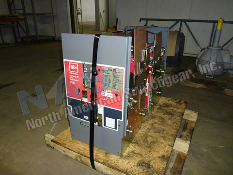 Eaton DSII-632 circuit breaker pictured.