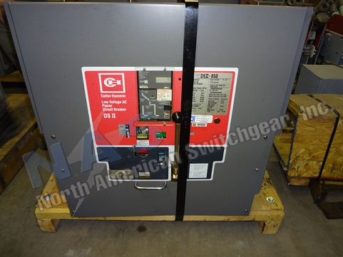 Cutler hammer dsii 850 circuit breaker for Motor operated circuit breaker