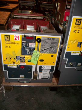 Eaton DSLII-308 circuit breaker pictured.