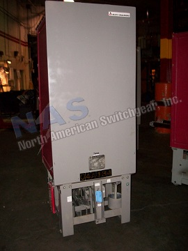 Siemens Allis FC-500 circuit breaker pictured.  NAS stocks many FC-500 circuit breakers and parts.  All vintages available.