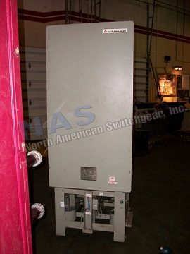 Siemens FC-500 circuit breaker pictured.  NAS stocks many FC-500 circuit breakers and parts.  All vintages available.