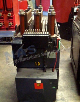 Allis Chalmers HJF circuit breaker pictured.