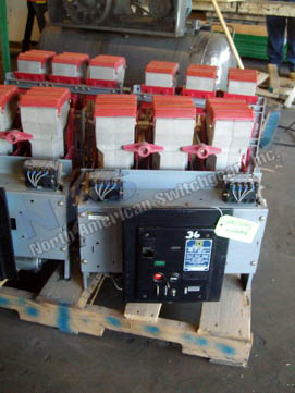 Square D K-1600 circuit breaker pictured.