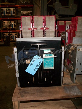ITE K-600 circuit breaker pictured.  Available electrically or manually operated; stationary or drawout.