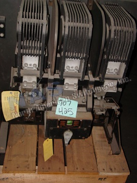 ITE KC-G circuit breaker pictured.  Available electrically or manually operated; stationary or drawout