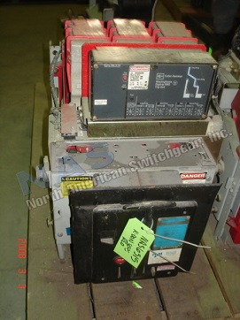 BBC KDON-800 circuit breaker pictured.  Available electrically or manually operated