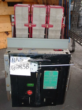 BBC KFP-225 circuit breaker pictured.  Available electrically or manually operated