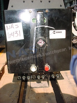Siemens LA-15 circuit breaker pictured.  Manually or electrically operated; as-is or reconditioned; stationary or drawout.