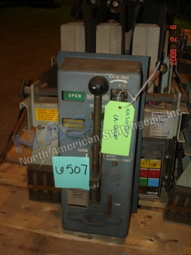 Allis chalmers la 600f circuit breaker for Motor operated circuit breaker