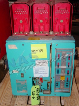 ITE LKD-8 circuit breaker pictured.  Available electrically or manually operated; stationary or drawout