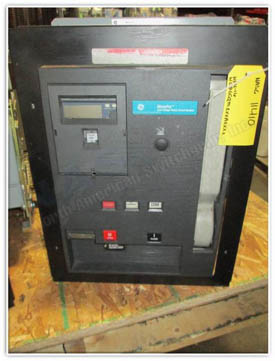 General Electric WPH-16 circuit breaker pictured.