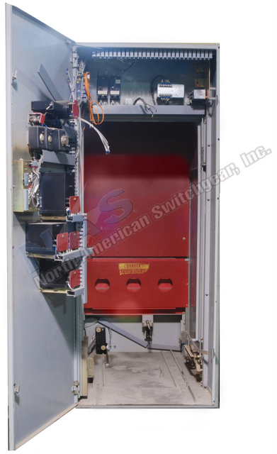 Westinghouse 150DHP750C Switchgear pictured.
